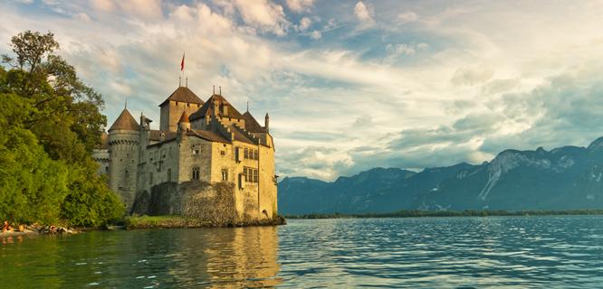 Château de Chillon, Montreux, Switzerland