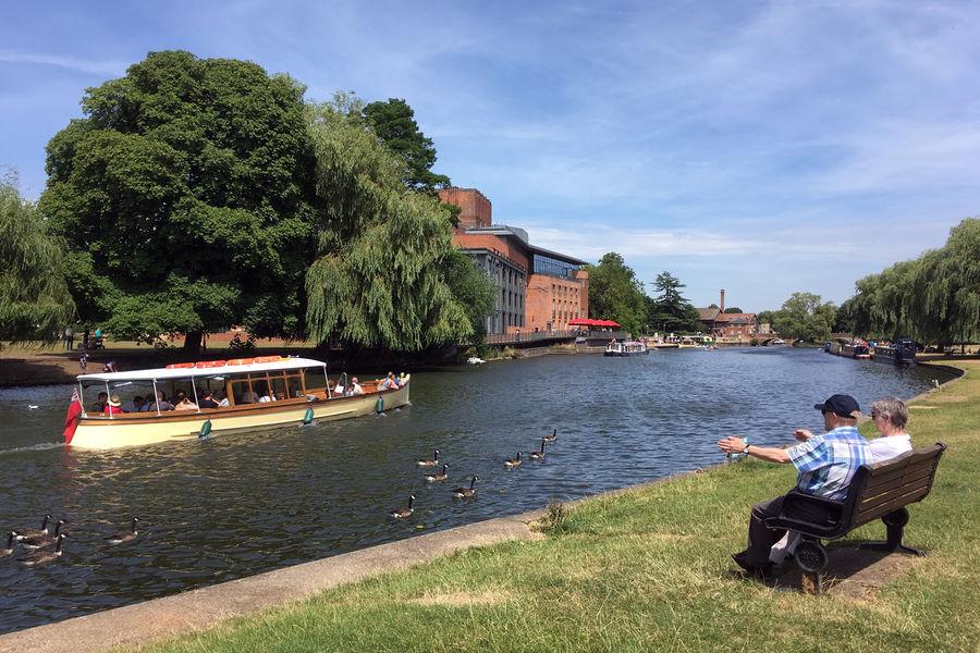 River Avon, Stratford-upon-Avon, England