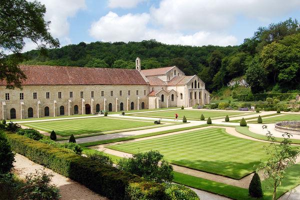 Abbey of Fontenay, Marmagne (Burgundy), France