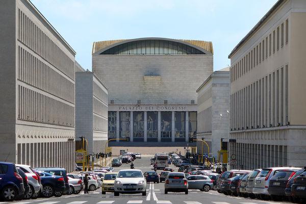 Palazzo Congressi, E.U.R., Italy