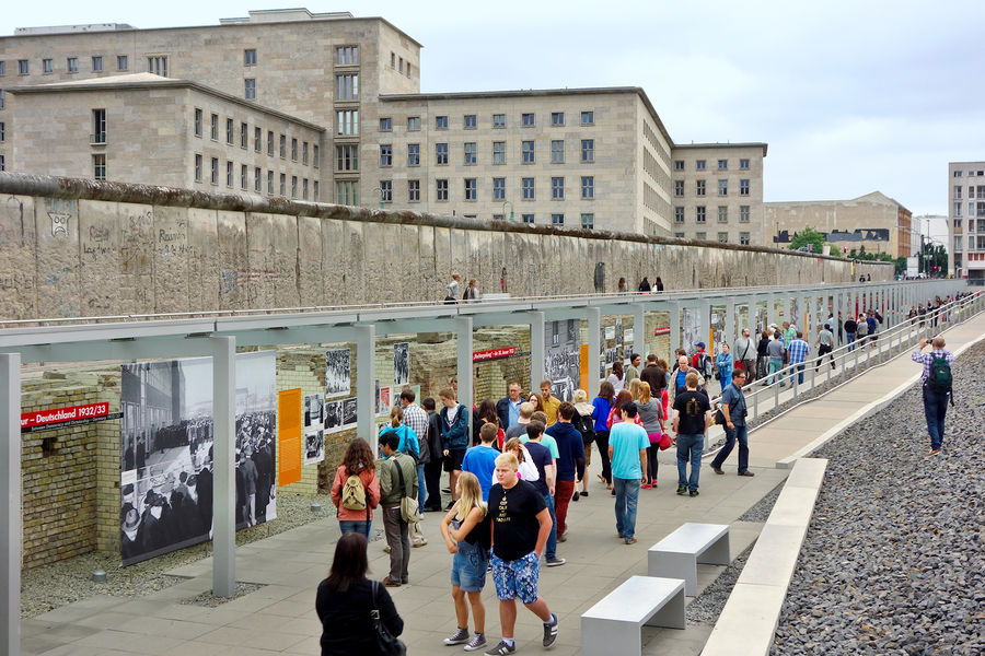 Topography of Terror exhibit, Berlin, Germany
