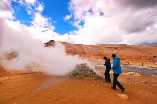 Námafjall geothermal field, Iceland