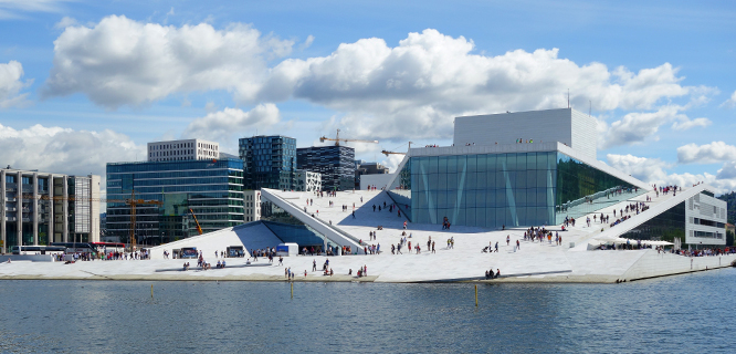 Opera House, Oslo, Norway