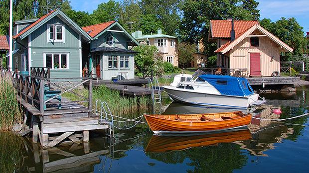 Vaxholm, Stockholm Archipelago, Sweden