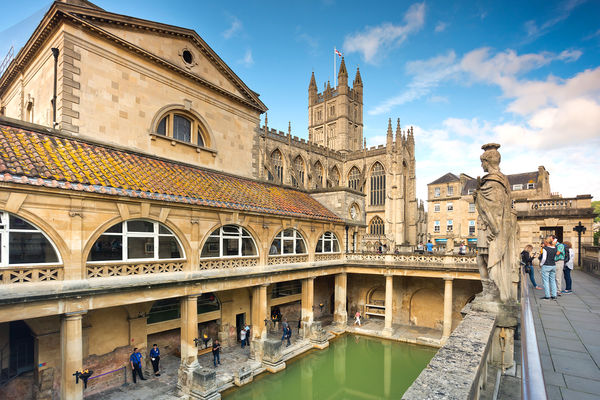 Roman Baths, Bath, England