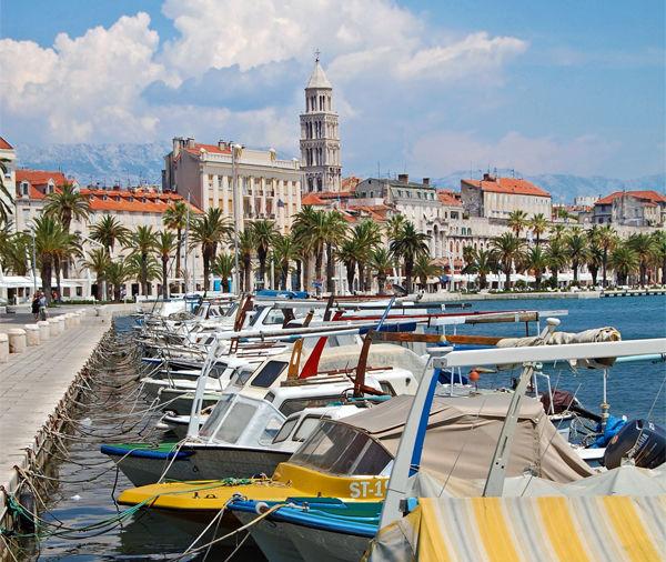 City Harbor, Split, Croatia