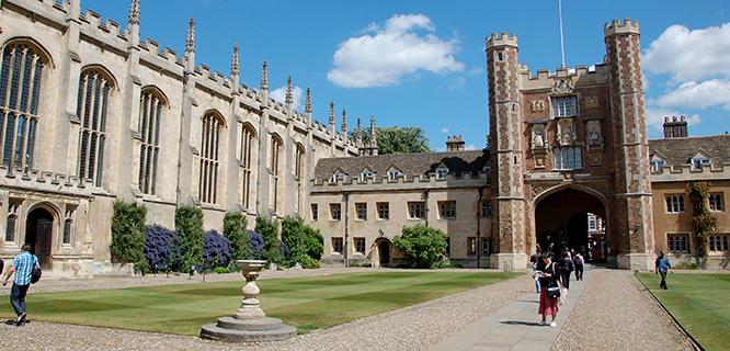 Trinity College, University of Cambridge, England