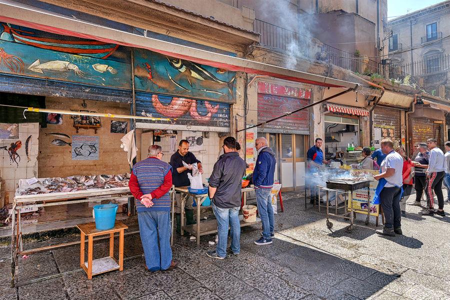 Vucciria Market, Palermo, Sicily, Italy