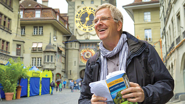 Rick Steves in Bern, Switzerland