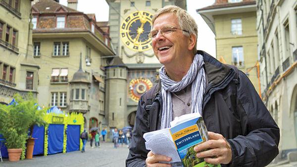 Rick Steves in Bern, Switzerland
