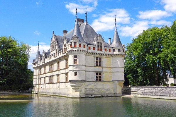 Château d'Azay-le-Rideau, Loire Valley, France