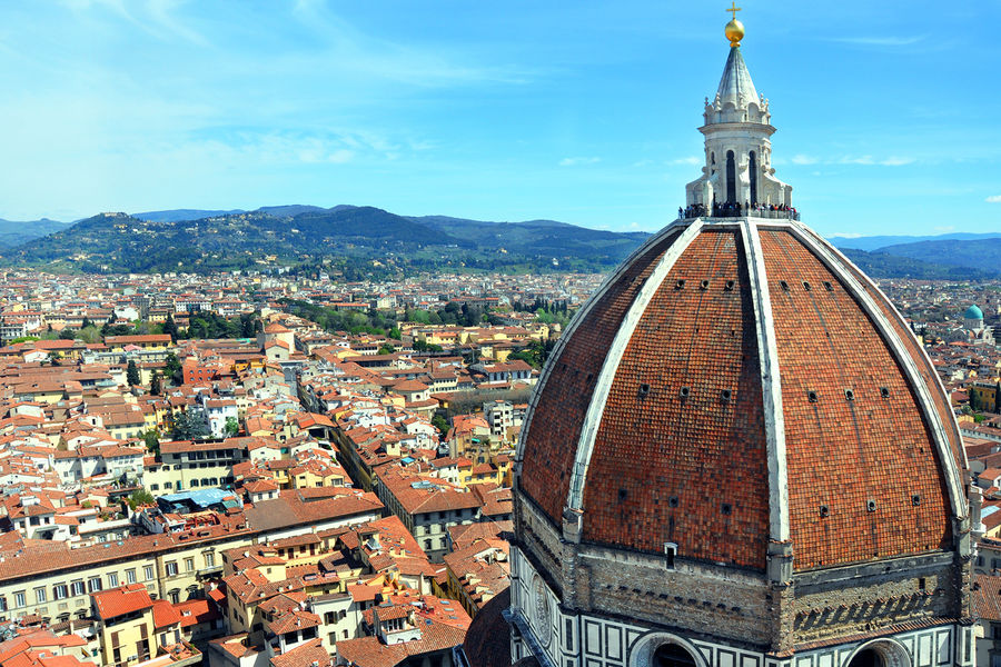Duomo dome, Florence, Italy