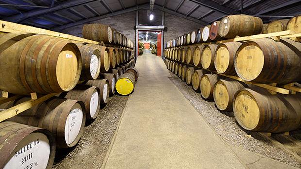 Edradour Distillery, Pitlochry, Scotland