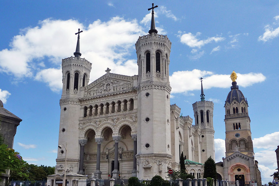 Notre-Dame Basilica, Lyon, France