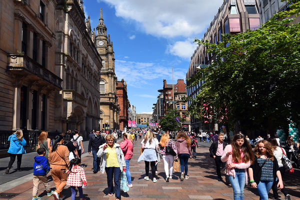 Buchanan Street, Glasgow, Scotland