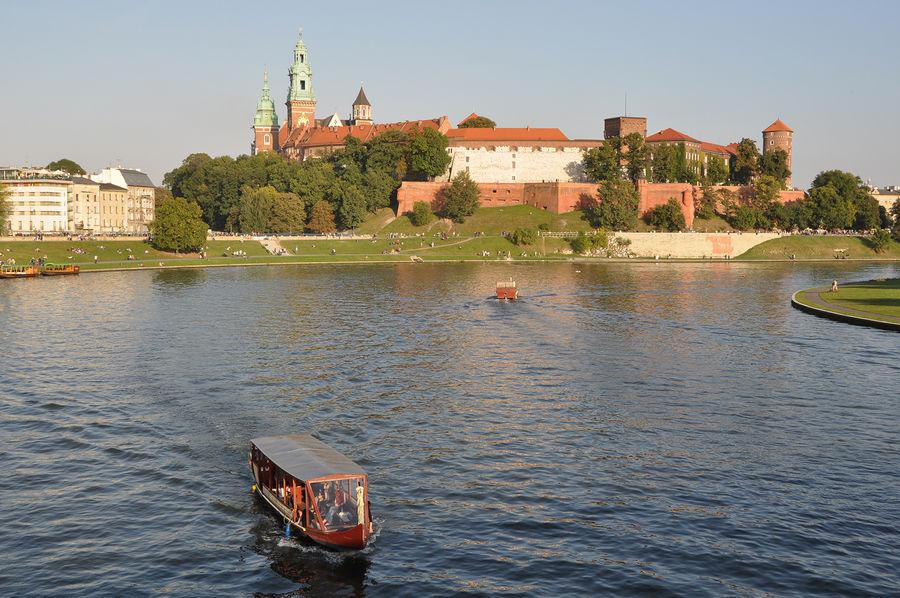 Vistula River, Kraków, Poland