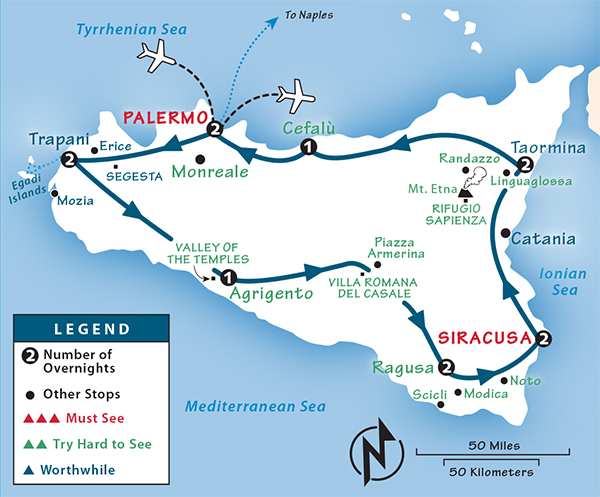 Sicily Itinerary: Where to Go in Sicily by Rick Steves
