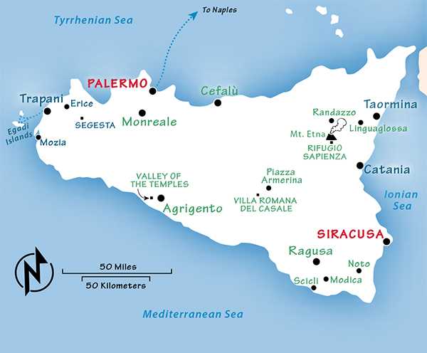 Capital Of Italy Map.Sicily Travel Guide Resources Trip Planning Info By Rick Steves