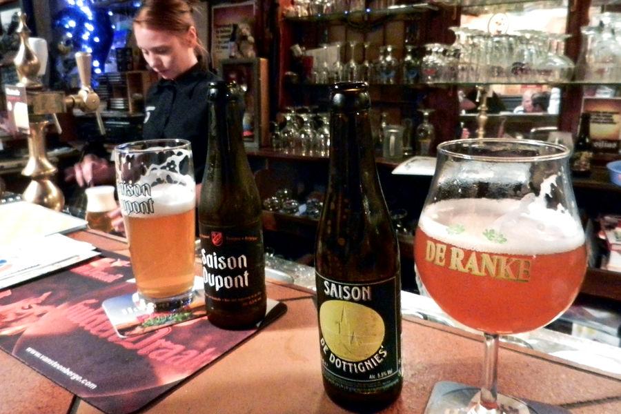 Beer bliss at 't Brugs Beertje, Bruges, Belgium