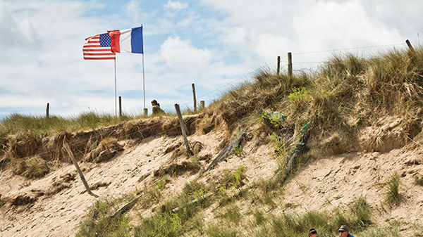 Utah Beach, Normandy, France