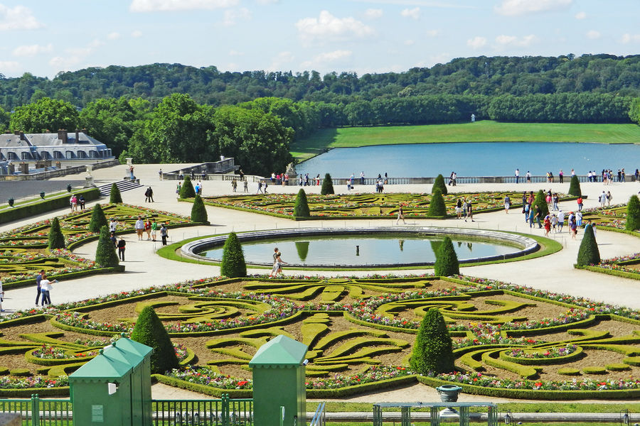 Gardens at Versailles Palace, Versailles, France