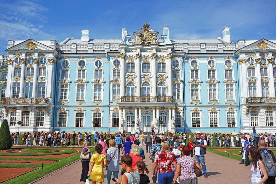 Catherine Palace, Pushkin (Tsarskoye Selo), Russia