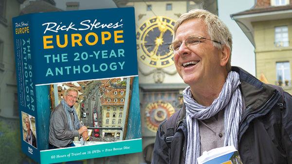 Rick Steves Europe 20-Year Anthology DVD Set