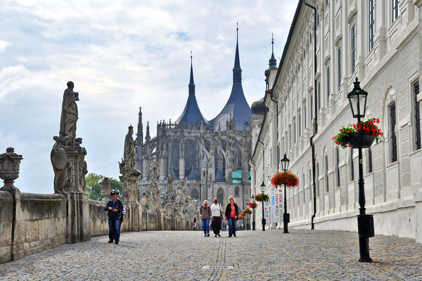 St. Barbara's Church, Kutná Hora, Czech Republic