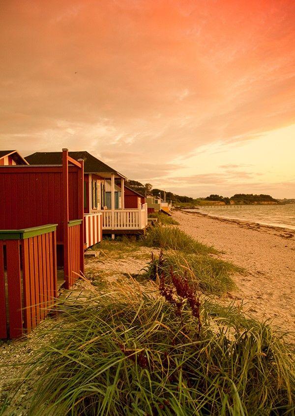 Urehoved Beach bungalows, Ærøskøbing, Denmark