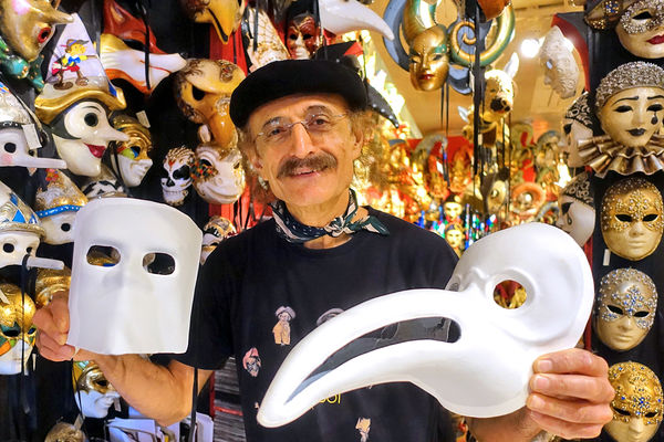Mask shop, Venice, Italy