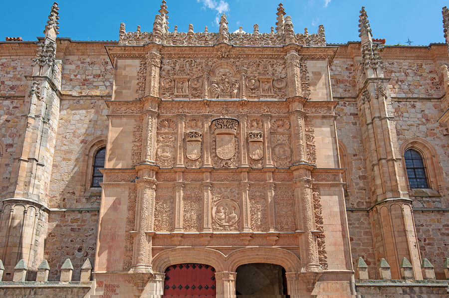 16th-century university building, Salamanca, Spain