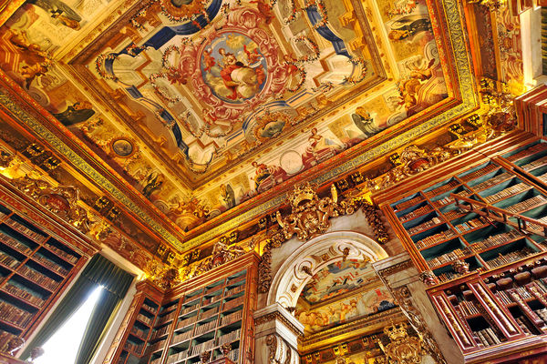 King João's Library, Coimbra, Portugal