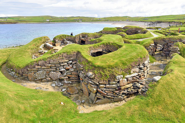 Skara Brae, Orkney Islands, Scotland
