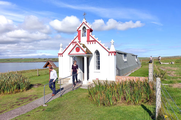 Italian Chapel, Orkney Islands, Scotland