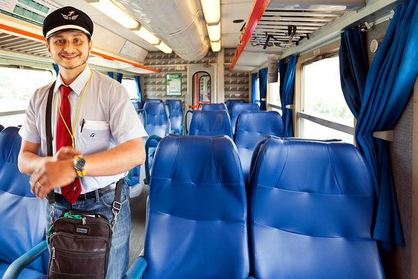 Train conductor, Italy