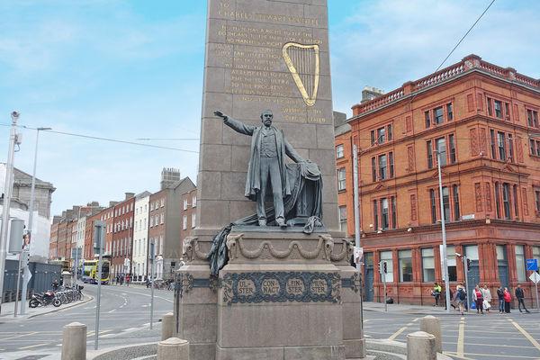 Charles Stewart Parnell Statue, Dublin, Ireland