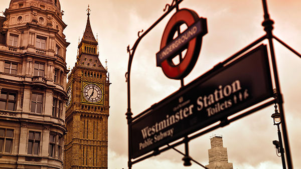 Westminster Station, London, England