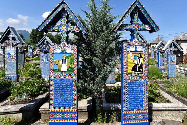 Merry Cemetery, Maramureș, Romania