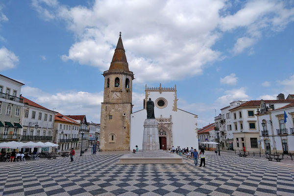 Praça da República, Tomar, Portugal