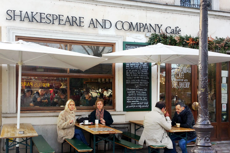 Shakespeare & Co. bookstore, Paris, FRance