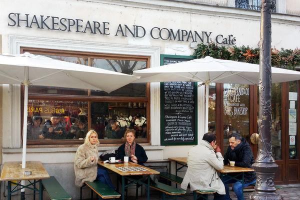 Shakespeare & Co. bookstore, Paris, FRance