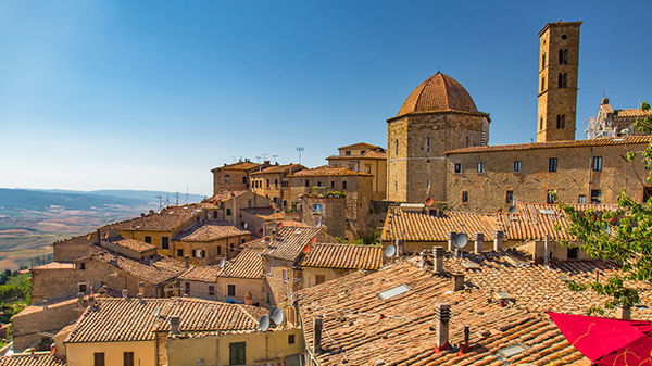 View of Volterra, Italy