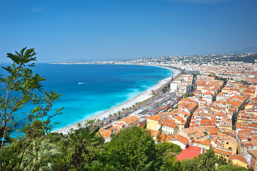 View from Castle Hill, Nice, France
