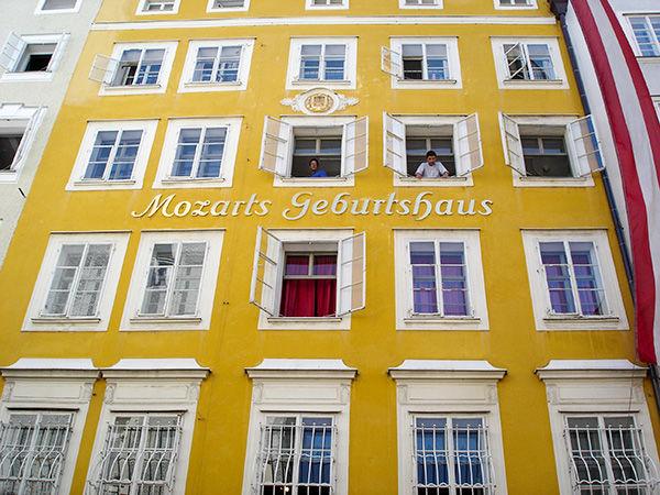Mozart's Birthplace, Salzburg, Austria