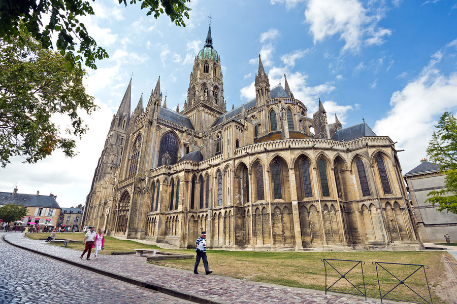 Bayeux Cathedral, Bayeux, France