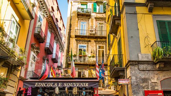 Spaccanapoli, Naples, Italy