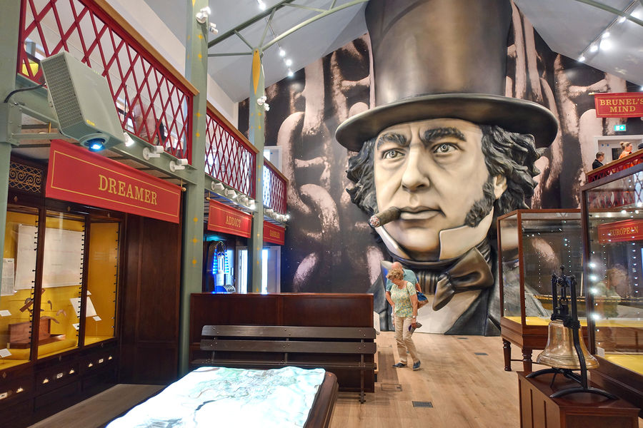 Brunel's SS Great Britain museum, Bristol, England