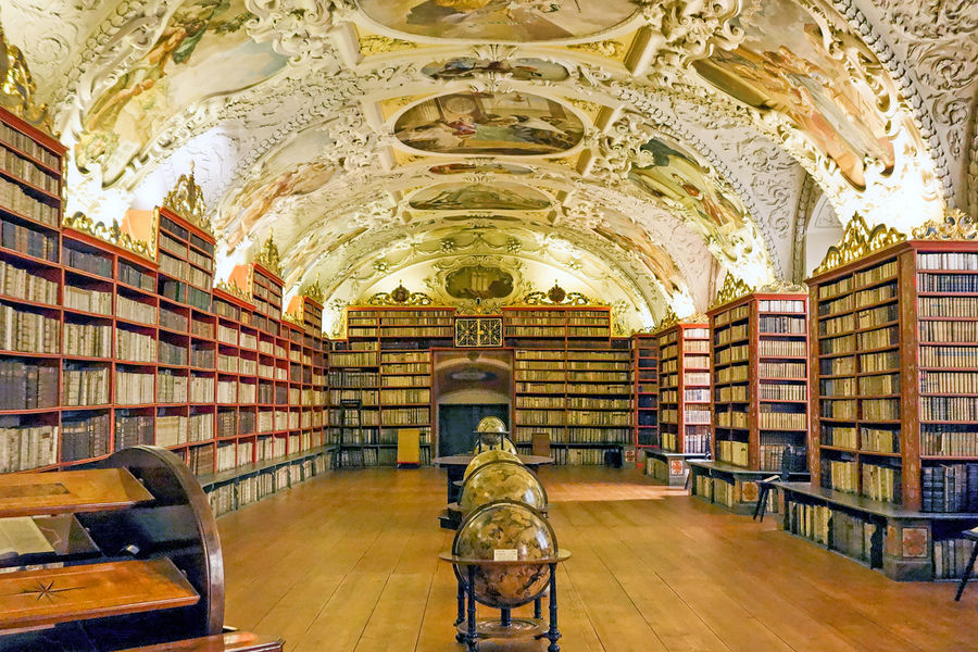 Strahov Monastery, Prague, Czech Republic