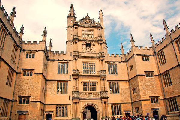 Bodleian Museum, Oxford, England