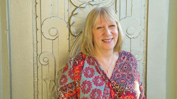 Tour guide Jeanie Carmichael
